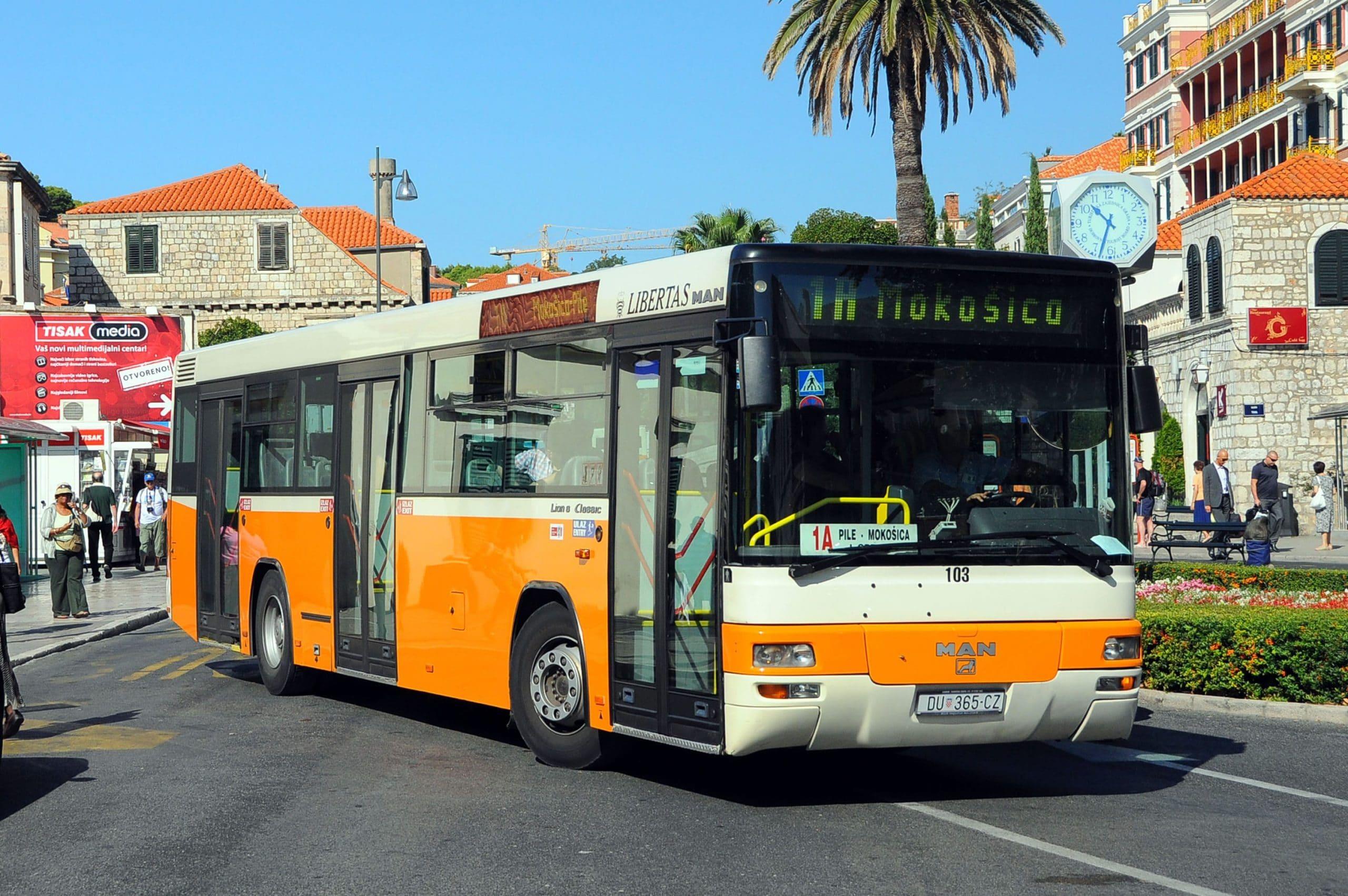 Turismo en Dubrovnik en autobús