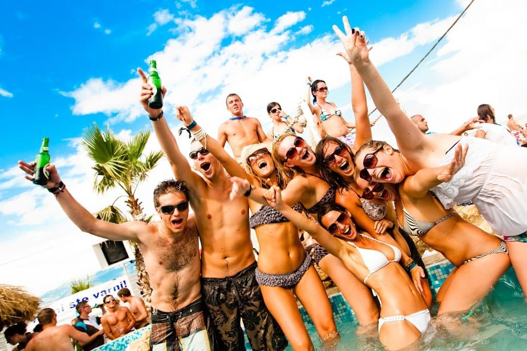 Fiestas en Isla de Pag