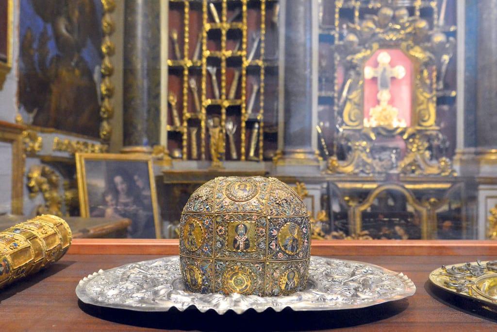 Las reliquias de San Blas, patrón de Dubrovnik