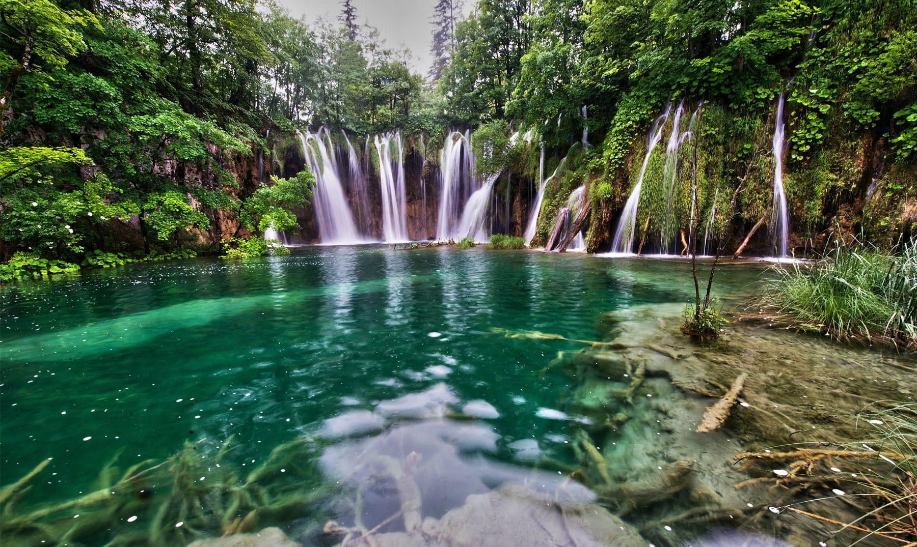 Resultado de imagen de Cataratas del Parque Nacional de los Lagos de Plitvice