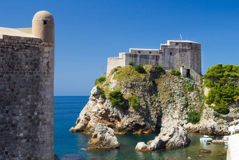 Fortaleza de Lovrijenac Guía turística de Dubrovnik