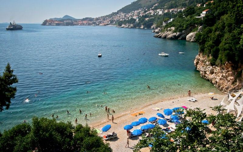 dubrovnik playas en Banje