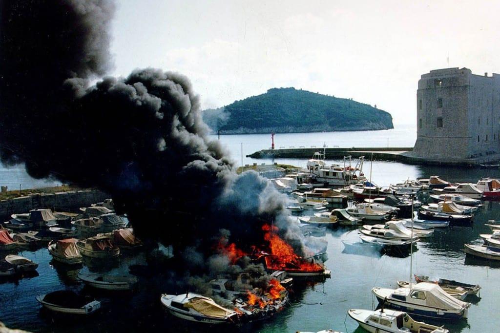 Bombardeo de Dubrovnik de 1991