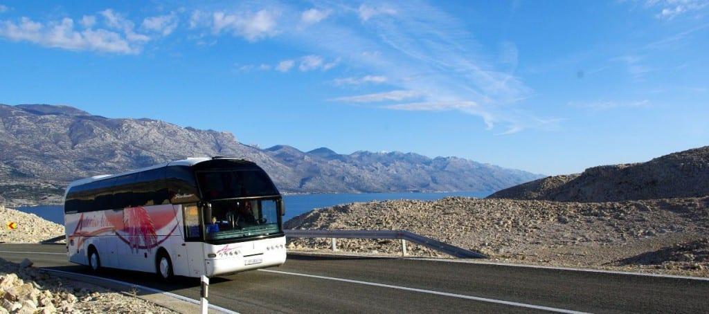 Viaje a Isla de Pag en bus