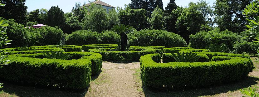 Jardín botánico en Lokrum