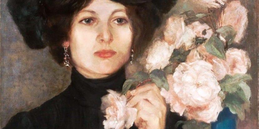 La Baronesa Rukavina, de Vlaho Bukovac (1898)