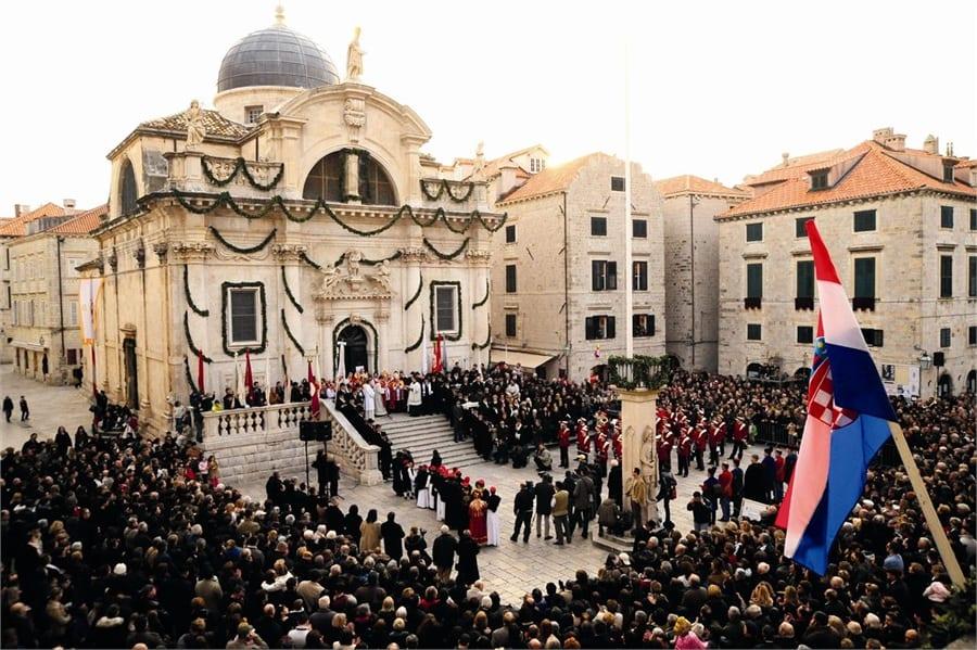 El día de San Blas en Dubrovnik: