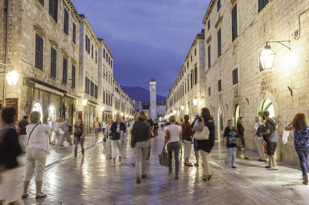 Turismo de compras en Dubrovnik