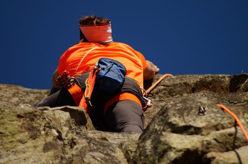 Actividad escalada en roca