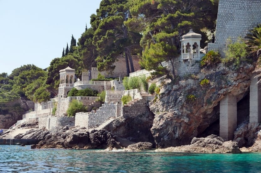 Playa y vistas Dubrovnik