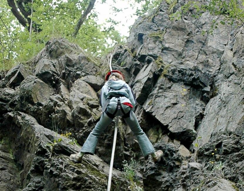 Niveles escalada en roca