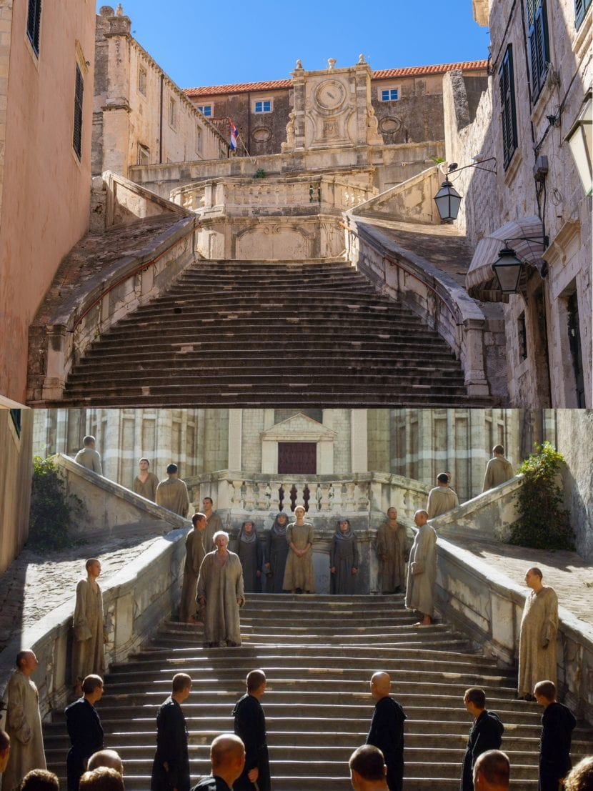 Scalinata de Dubrovnik